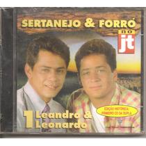 Cd - Leandro & Leonardo - No Jt - 1º Disco - Novo, Lacrado