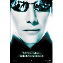 Óculos De Sol Matrix Reloaded Neo Style Com Proteção