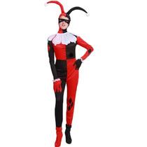 Disfraz Harley Quinn Arlequín Circo Entrega Inmediata