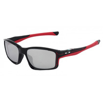 Oakley Chainlink Polished Black - Chrome Iridium Troy Lee