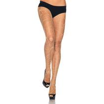 Medias De Telarañas Color Piel Leg Avenue 9934 Sexy Disfraz