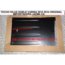 Techo Hilux Doble Cabina 2012 2014 (lata) Original Toyota