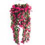 10 Pendentes Flores Artificiais - Trepadeiras Atacado Folhas