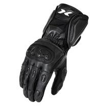 Luva Motociclista X11 Impact Cano Longo Couro C Protetor G
