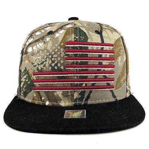 Ee Uu Bandera Americana Bordado Plana Bill Snapback Cap -   83.290 en  Mercado Libre 39344dbc6ae