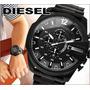 Reloj Diesel Dz4283b Mega Chief Black. 100% Original