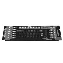 Consola Dmx 512 Profesional 192 Canales Controlador Rack Lcd