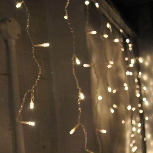 6b8eba430bd Cascada 300 Luces Led Blanco Calida Serie Navidad -   260.00 en Mercado  Libre
