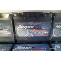 Baterias Agm Super Som 50 Ah Gel,as Tops Para Alta Voltagem