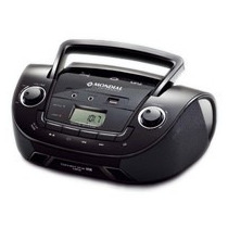 Rádio Connect Star Mondial Nbx-06 Preto 3,4w Rms Usb Bivolt