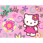 Kit Imprimible Personalizable Hello Kitty Cumpleños Tarjetas