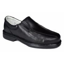 Sapato Masculino Em Couro Confortável Pele De Carneiro