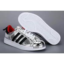 Adidas Superstar Plateadas