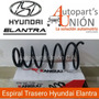 Espiral Trasero De Hyundai Elantra