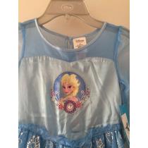 Vestido Camisón Frozen Para Niña Disney Original
