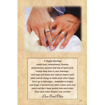 Poster (30 X 46 Cm) A Happy Marriage Justin Spivey