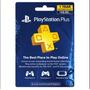 Ps Plus 12 Meses Playstation Plus 1 Año Oferta!!