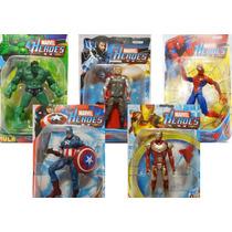 Boneco Super Heroi Marvel Articulado C/ Led