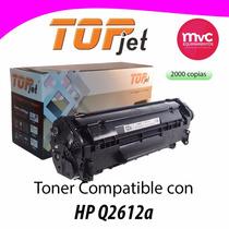 Cartucho Toner Hp Q2612a Reciclado Exelente.