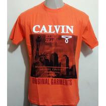 Kit C/10 Camisetas Marcas Famosas Masculino 14,00 Cada