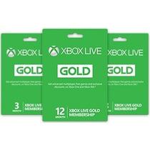 Xbox Live Gold ! - Tenemos Los Mejores Precios De Cr