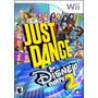 Juego Just Dance Disney Party 2 Nintendo Wii Original Nuevo