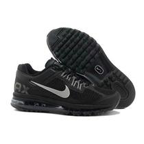 Tenís Nike Air Max 2014 Azul Infanto Juvenil Do 34 Ao 43