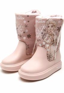 32dfa969101 Black Friday Bota Infantil Frozen Snowland Rosa Grendenekids - R  59 ...