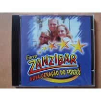 Forró Zanzibar- Cd Nova Geração Do Forró- 2000- Zerado!