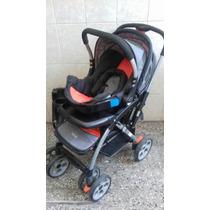 Vendo Cochecito+huevito+base Auto Impecable Infanti Bebe