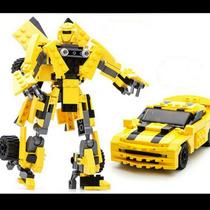 Transformers Bumblebee Padrão Lego 244 Peças( Ausini , )