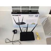 Roteador Dlink Dir809 Três Antenas Função Ac Repetidor