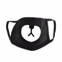 Mascara Cubreboca Unisex Ciclista, Frio, Polvo Ceniza Oso