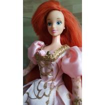 Muñeca Ariel Princesa La Sirenita Vestido Rapunzel