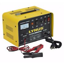 Carregador Bateria 10a Analogico 12v/24v Lynus Lcb-10 220v