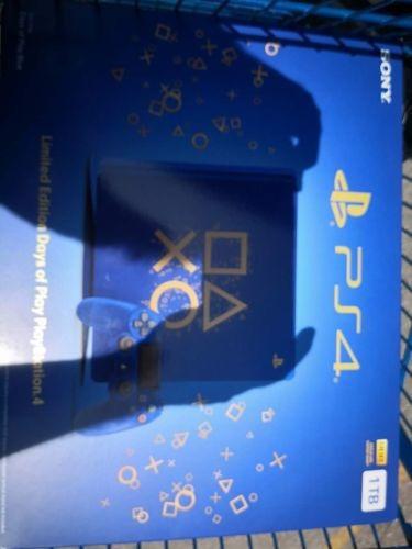 Sony Playstation 4 1tb Edicion Limitada Days Of Jugar Conso