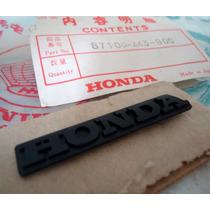 Emblema Do Painel Cb 400 Ll Novo Original Honda