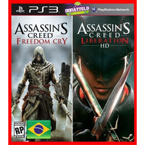 Assassins Creed Freedom Cry E Liberation Ps3 - Código Psn