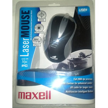 Mouse Maxell Optico, Laser, Multifuncion Y Viajero