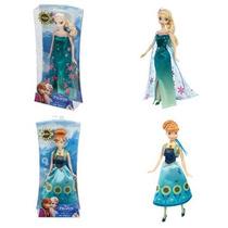 Elsa Y Anna Fever Original De Mattel