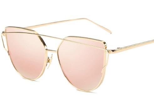 2c3829868c8c8 Oculos De Sol Feminino Starlight Espelhado Gato Retrô Barato - R  49,90 em  Mercado Livre