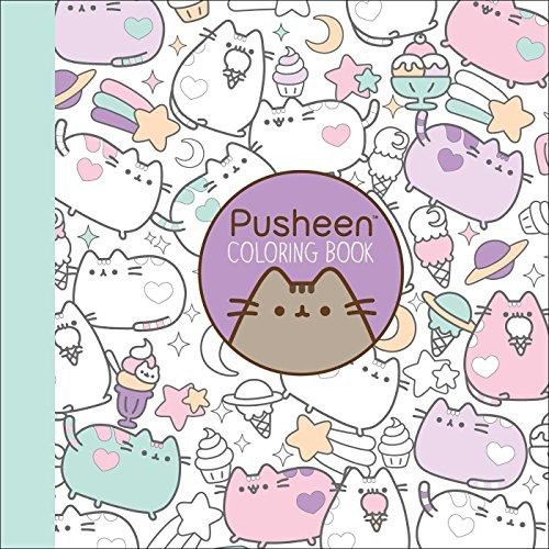 Libro Para Colorear De Pusheen - $ 910.00 en Mercado Libre