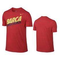 Playera Nike Barcelona Fc Messi Neymar 2016 !oferta!