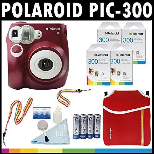 0051c913c7 Cámara Analógica De Película Instantánea Polaroid Pic-300 ...