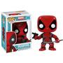 Pop Marvel: Deadpool Vinilo Bobble-cabeza De La Envío Gratis