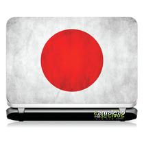 # 23 Adesivo Notebook Bandeira Japão (14,1