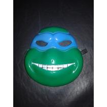 Mascaras Tortugas Ninjas Sin Luz Plastico Duro Super Heroes