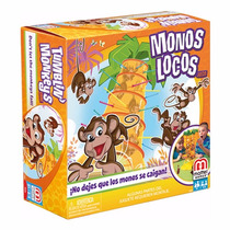 Monos Locos Juego De Mesa Familiar Original Mattel Games