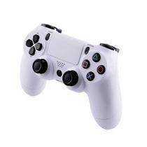 Controle Joystick Para Playstation4 Game Ps4 Branco Com Fio