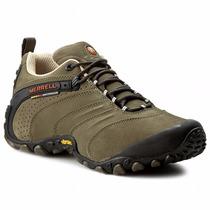 Zapato Deportivo Tipo Hiker Merrell Chameleon Ii Leather 549